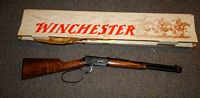 Winchester 375 cal model 94 rifle with box