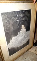 Louis Icart etching dated and copyrighted