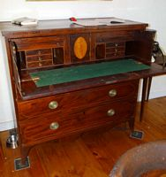 period Hepplewhite butler's desk